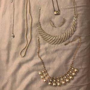 Assorted beautiful necklaces from jcrew, Swarovski